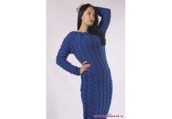 Платье вязаное, Артикул 13 платье с косами