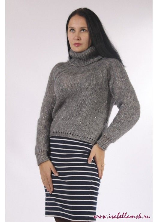 Артикул 15 серый свитер