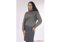 Серый свитер из мохера, Артикул 15 серый свитер