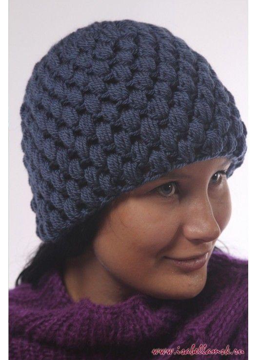Вязаная шапка 1