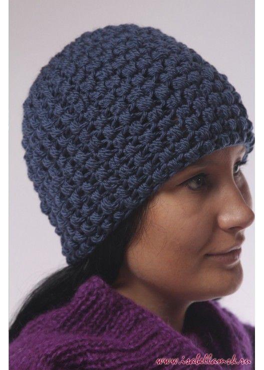 Вязаная шапка 2