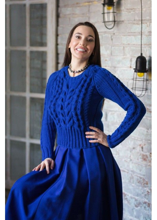 Вязаный свитер парламент