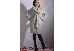 Пальто 17-147 серый халат