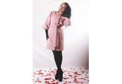 Пальто 17-031 светло-розовый