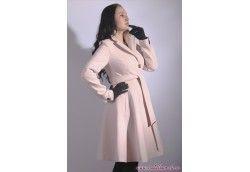 Красивое женское пальто юбка