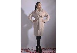 Красивое пальто халат из шерсти