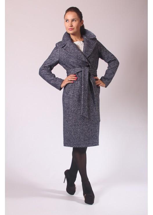 Длинное классическое пальто из шерсти
