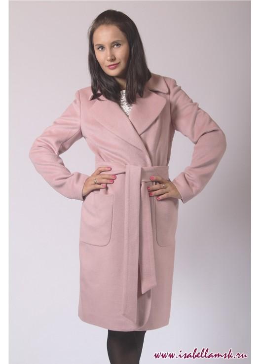 Демисезонное классическое пальто до колена