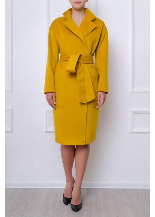 Женское пальто оверсайз - халат