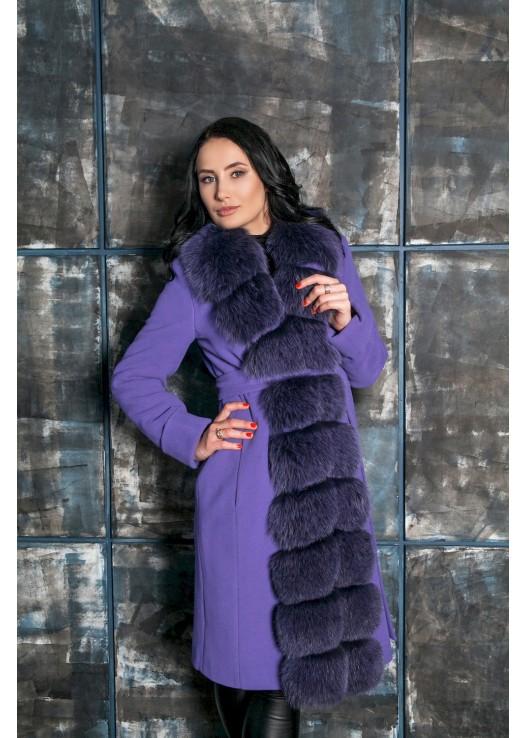 Новинка женское зимнее пальто с мехом 2018-2019
