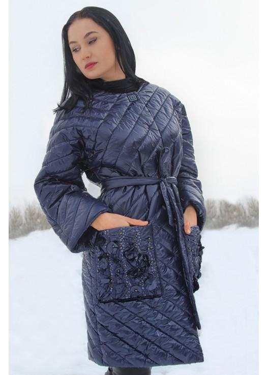 Женская куртка утепленная Эксклюзив