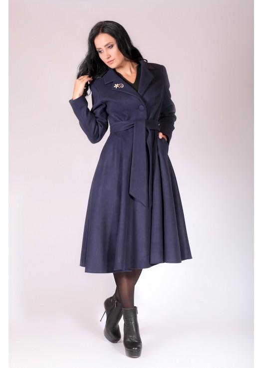Платье пальто мода Осень 2018