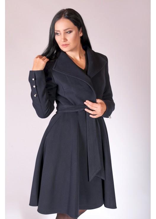 Модное женское пальто с юбкой Осень 2018