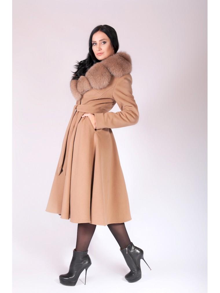 Модное зимнее пальто с юбкой зима 2019 купить зимнее женское пальто... abef72e67be40