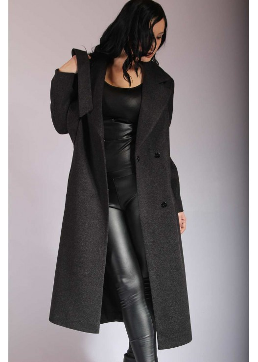 Демисезонное классическое пальто