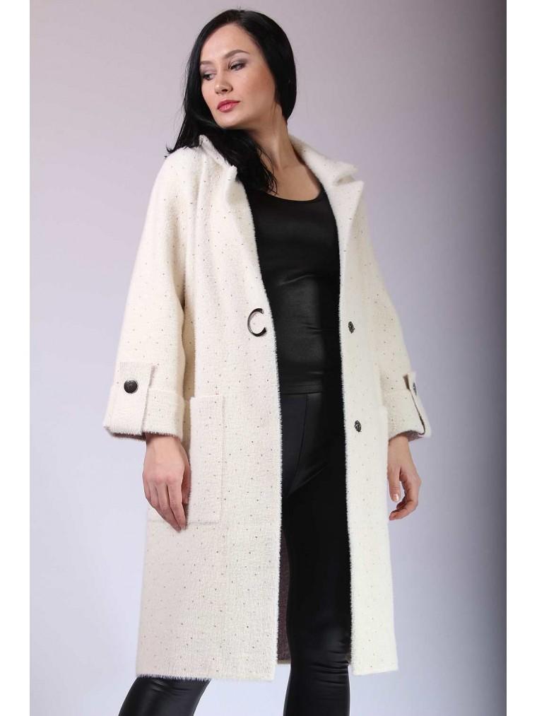 fd10a9fbc8d Трикотажное пальто Весна 2019 купить пальто в Москве интернет магазин