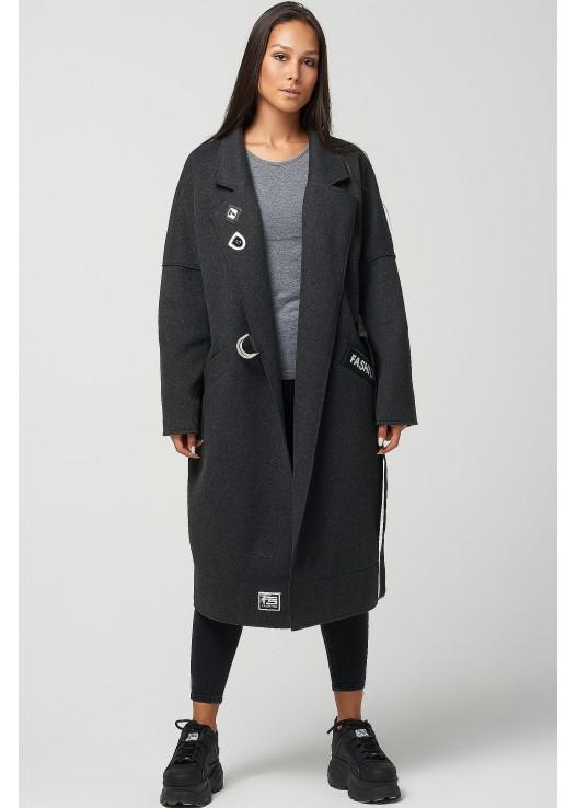 Женское пальто кокон Осень 2019