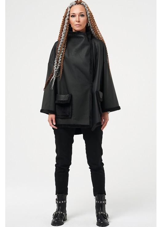 Пальто дубленка oversize