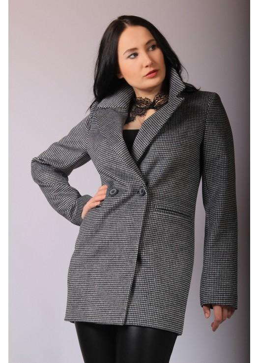 Пиджак -пальто короткий