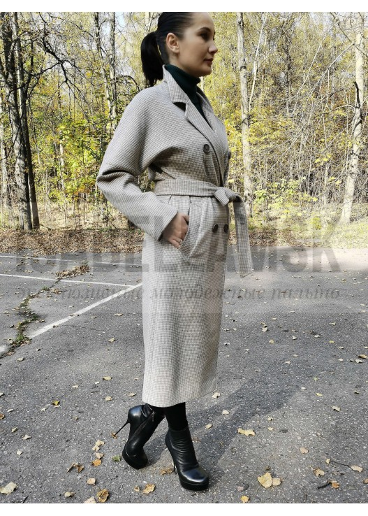 Осеннее женское пальто Оверсайз