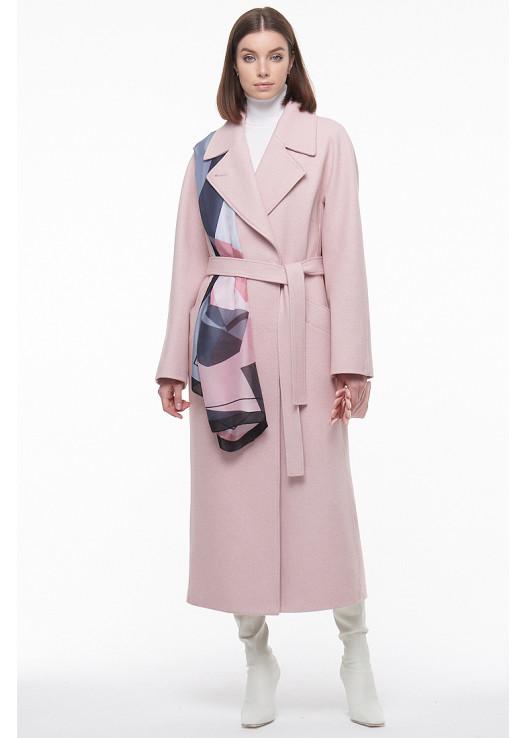 Женское пальто халатного типа Весна 2021
