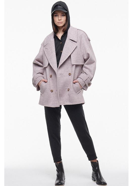 Весеннее короткое пальто Весна 2021