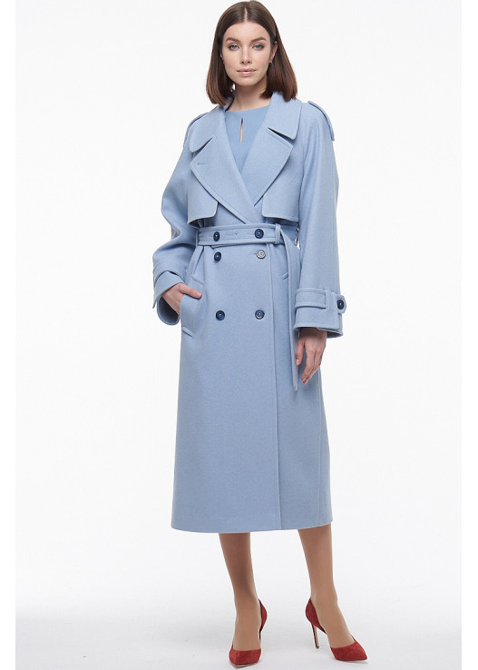 Модное женское пальто Весна 2021 тренд этого сезона
