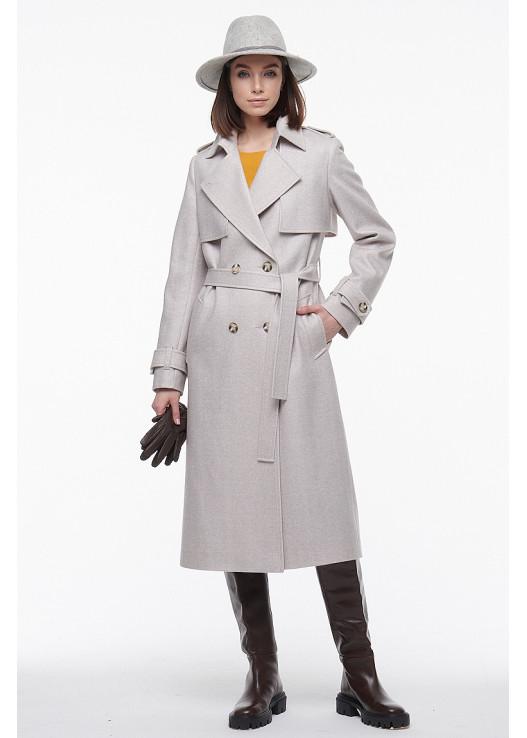 Эксклюзивное женское пальто Весна 2021