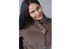 Женское пальто из Альпаки Италия