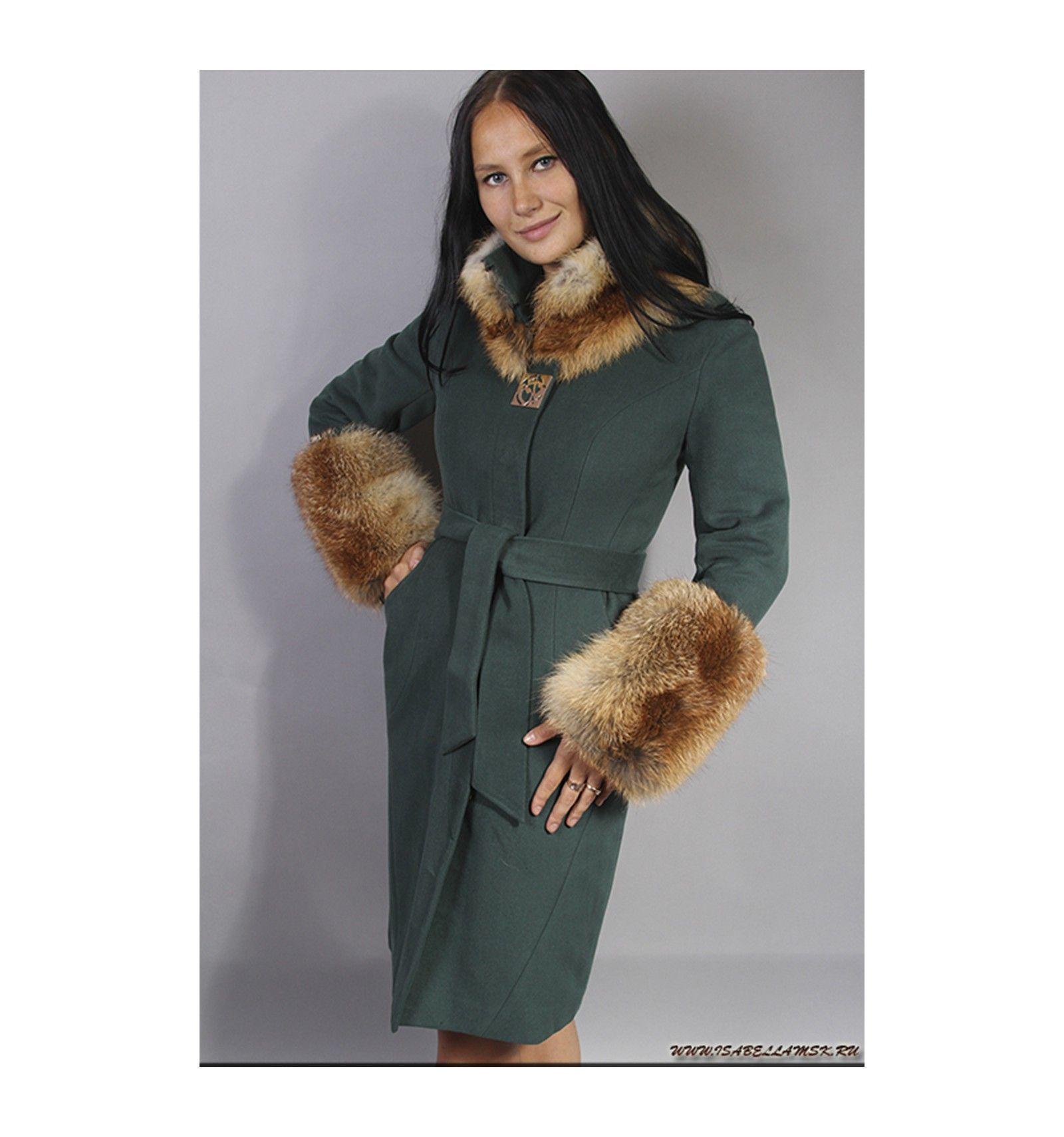 Пальто женское зимнее 2014