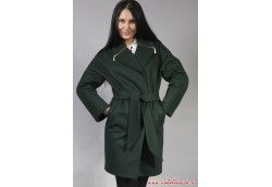Кашемировое женское пальто для девушки