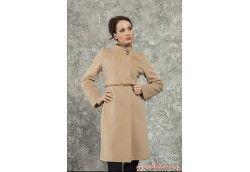 Женское пальто классика кэмел