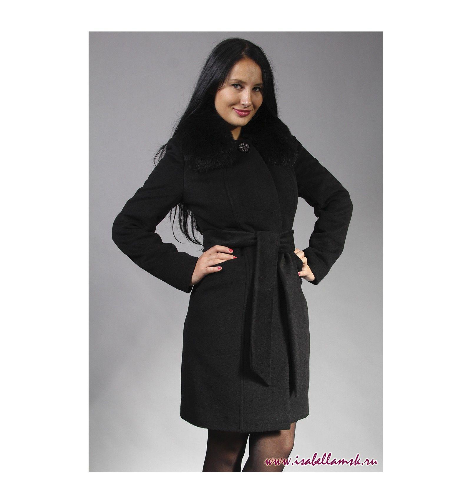 Пальто молодежное женское