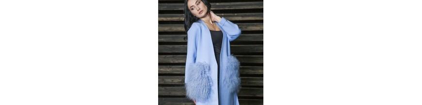Пальто женское Осень-Весна 2017 Exclusive